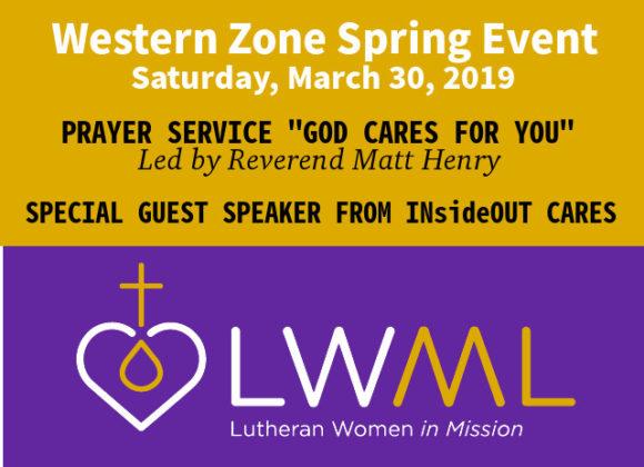 LWML Spring Event